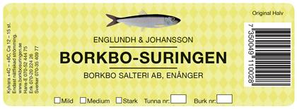 Surströmmingen kommer från Borkbo-Suringen